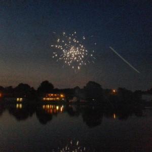 Feuerwerk in Duisburg