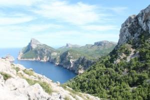 Aussichtspunkt auf dem Weg nach Cap de Formentor