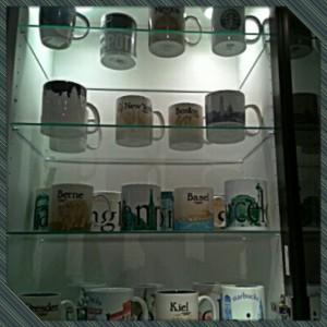 Starbucks Tassen-Sammlung