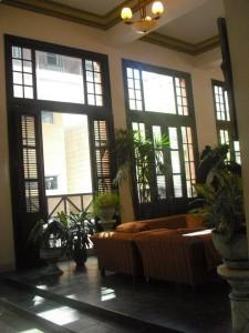 Lobby im Hotel Ambos Mundos