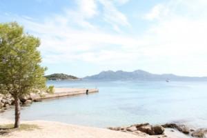 Strand in Formentor