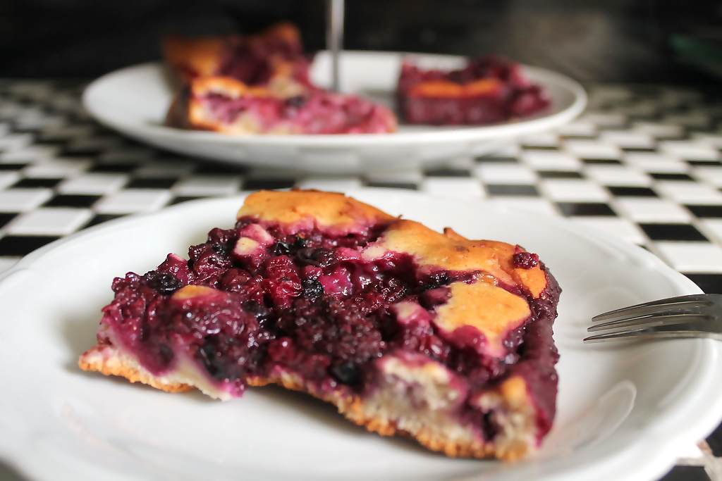 Schoko-Beeren-Kuchen vom Blech - Elas Universe